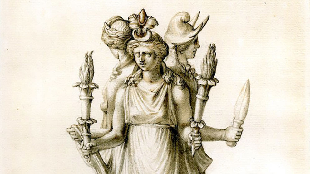 Hecate Or Hekate The Invocation Of The Crossroads Witchcraft Goddess