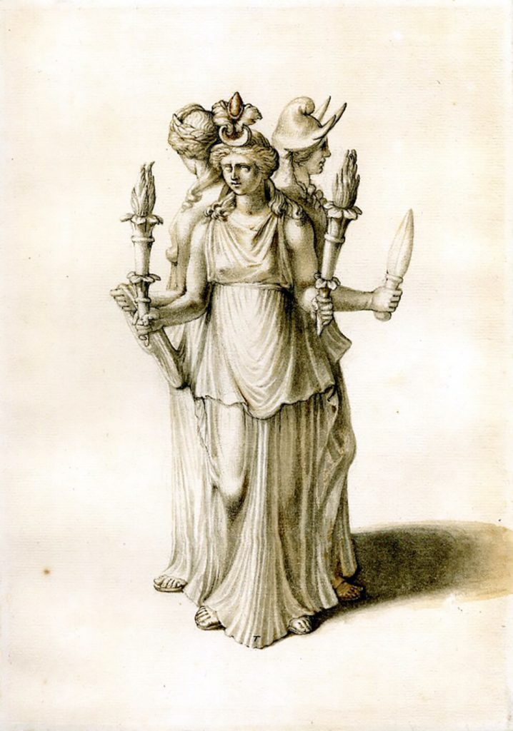 Hecate or Hekate - the Invocation of the Crossroads